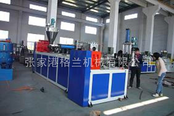 Recycling granulator production line